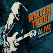 TROUT WALTER  - 2xCD ALIVE IN AMSTERDAM