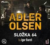 BARES IGOR  - 2xCD ADLER-OLSEN: SLOZKA 64 (MP3-CD)