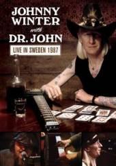 WINTER JOHNNY W/DR JOHN  - DVD LIVE IN SWEDEN 1987