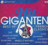 DIE HIT GIGANTEN  - 3xCD BEST OF FRENCH CLASSICS