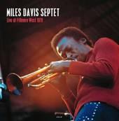 MILES DAVIS SEPTET  - VINYL LIVE AT THE FI..