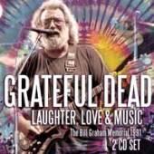 GRATEFUL DEAD  - CD+DVD LAUGHTER, LOVE & MUSIC (2CD)