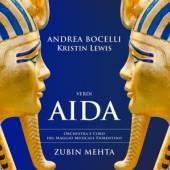BOCELLI ANDREA  - CD VERDI AIDA