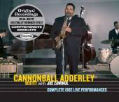 CANNONBALL ADDERLEY SEXTET  - 4xCD COMPLETE 1962 LIVE PERFORMANCES