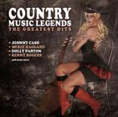 VARIOUS  - CD COUNTRY MUSIC LEGENDS