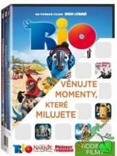 FILM  - DVD Rodinné 1 (Rio,..