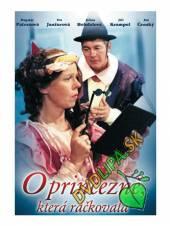FILM  - DVP O princezně, která ráčkovala DVD