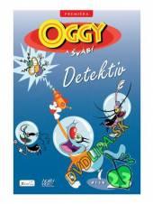 FILM  - DVD Oggy a švábi - Detektiv DVD