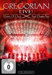 GREGORIAN  - DVD LIVE MASTERS OF ..
