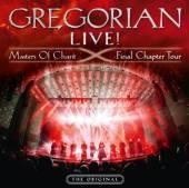 GREGORIAN  - CD LIVE! MASTERS OF ..