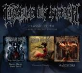 CRADLE OF FILTH  - 3xCD CLASSIC FILTH
