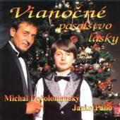 DOCOLOMANSKY MICHAL + JANKO PA..  - CD VIANOCNE POSOLSTVO LASKY [R]