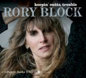 BLOCK RORY  - CD KEEPIN 'OUTTA TROUBLE -..