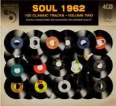 VARIOUS  - 4xCD SOUL 1962 VOL. 2 [DIGI]