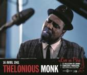 MONK THELONIOUS  - 2xCD LIVE IN PARIS 16 AVRIL..