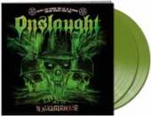 ONSLAUGHT  - 2xVINYL LIVE AT THE ..