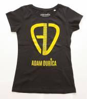 DURICA ADAM  - TRI AD LOGO/SKINNY/BLACK/LADIES/LARGE