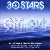 30 STARS CHILLOUT  - CD VARIOUS ARTISTS(3CD)