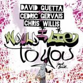 GUETTA DAVID  - CD WOULD I LIE TO YOU