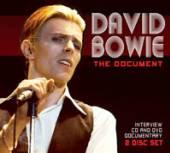 DAVID BOWIE  - CD+DVD THE DOCUMENT (DVD+CD)