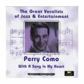 PERRY COMO  - CD+DVD WITH A SONG IN MY HEART