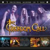 FREEDOM CALL  - 5xCD ORIGINAL ALBUM SERIES