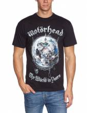 MOTORHEAD =T-SHIRT=  - TR WORLD IS YOURS -M- BLACK