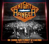 NIGHT RANGER  - 3xCD 35 YEARS AND A ..