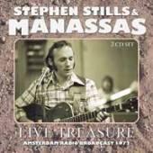 STEPHEN STILLS & MANASSAS  - CD+DVD LIVE TREASURE (2CD)