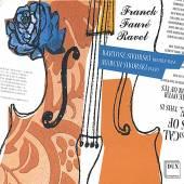 FRANCK/FAURE/RAVEL  - CD SONATAS