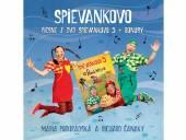 PODHRADSKA & CANAKY  - CD PIESNE Z DVD SPIEVANKOVO 5 + BONUSY