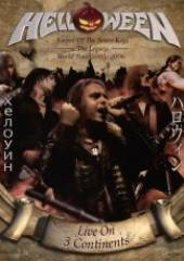 HELLOWEEN  - DVD LIVE ON 3 CONTINENTS DVD
