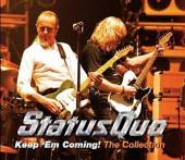 STATUS QUO  - 2xCD KEEP 'EM COMING - THE..