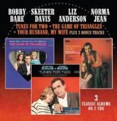 BOBBY BARE / SKEETER DAVIS / L..  - CD+DVD TUNES FOR TWO..