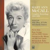 MCCALL MARY ANN  - CD COMPLETE RECORDINGS..