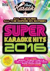 KARAOKE  - DVD SUPER KARAOKE HITS 2016