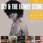 SLY & THE FAMILY STONE  - 5xCD ORIGINAL ALBUM CLASSICS