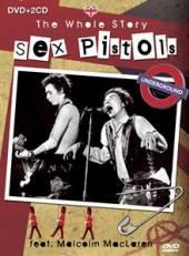SEX PISTOLS  - 3xCD+DVD WHOLE STORY DVD