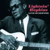 LIGHTNIN' HOPKINS  - CD LIVE IN DENVER