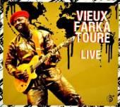 TOURE VIEUX FARKA  - CD LIVE