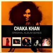 KHAN CHAKA  - 5xCD ORIGINAL ALBUM SERIES
