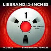 LIEBRAND BEN  - 4xCD 12-INCHES