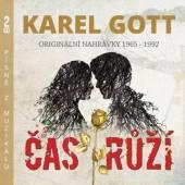 GOTT KAREL  - 2xCD CAS RUZI [MUZIKAL]