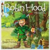 GELESEN VON BODO PRIMUS  - CD ROBIN HOOD VON HOWARD PYLE