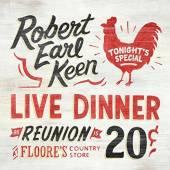 KEEN ROBERT EARL  - 2xVINYL LIVE DINNER REUNION [VINYL]
