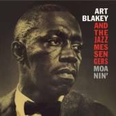 BLAKEY ART & THE JAZZ ME  - CD MOANIN' -BONUS TR-