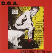 DOA  - CD GREATEST SHITS