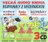 ROZPRAVKY / AUDIOKNIHA  - 3xCD Večerníček M..