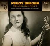 SEEGER PEGGY  - 4xCD FIVE CLASSIC.. [DELUXE]