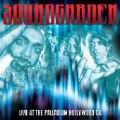 SOUNDGARDEN  - CD LIVE AT THE PALLA..